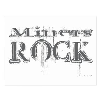 Miners Rock Postcard