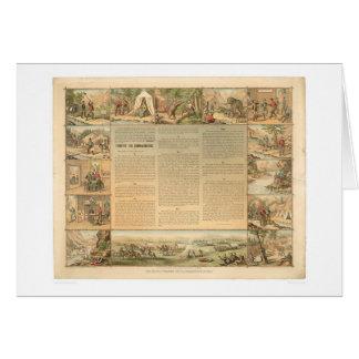 Miner's Ten Commandments (1081A) Card