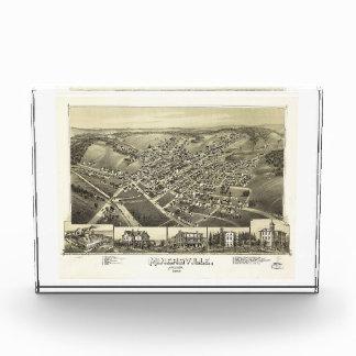 Minersville, Pennsylvania by T.M. Fowler (1889) Acrylic Award