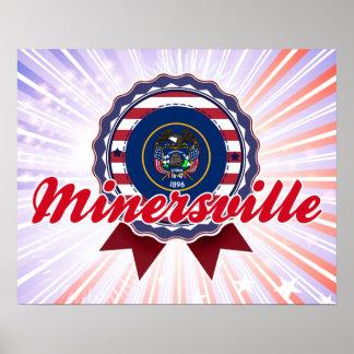 Minersville, UT Poster
