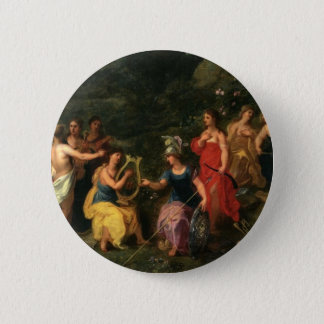 Minerva and the muses button