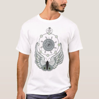 Minerva Artistic Geometric Graphic Music Apparel T-Shirt
