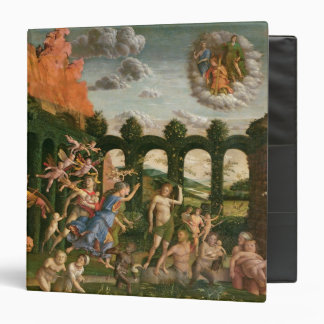Minerva Chasing the Vices 3 Ring Binder