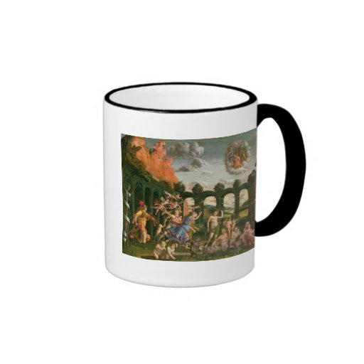 Minerva Chasing the Vices Mugs