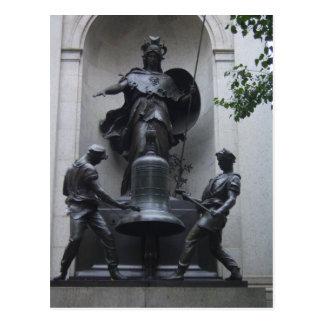 Minerva Herald Square by CricketDiane Post Card