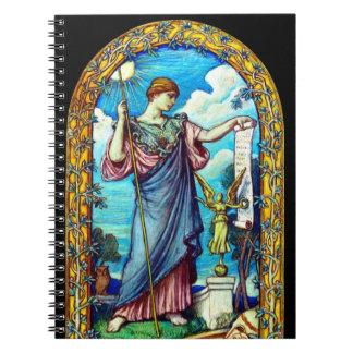 Minerva Mosaic Design 1896 Note Book