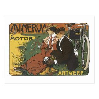 Minerva Motor Antwerp Postcard