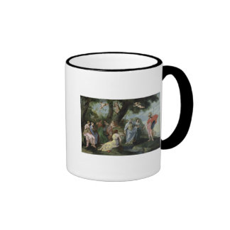 Minerva with the Muses Coffee Mugs