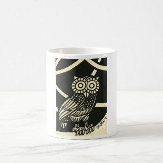 Minerva'sOwl Classic White Coffee Mug