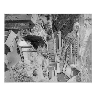 Mines and Mills in Terraville Photograph Poster