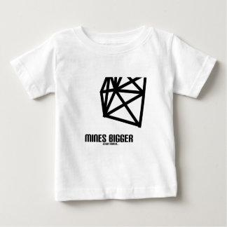Mines Bigger Baby T-Shirt