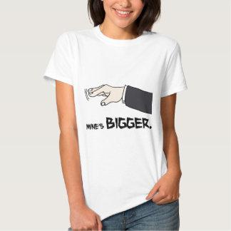 Mine's Bigger Shirt