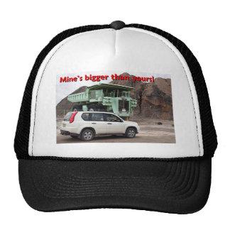 Mine's bigger than yours: mining truck & SUV Trucker Hat