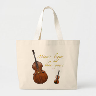 Mine's bigger than yours strings bag