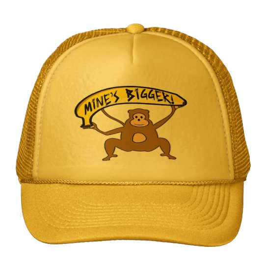 Mine's Bigger Trucker Hat