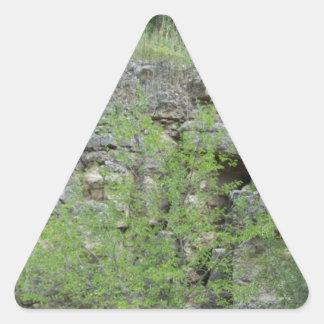 Mines of Spain bluff Triangle Sticker