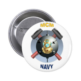 MINESWEEPER PINBACK BUTTON