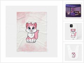 Minette - the pink kitten