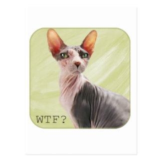"""Ming says """"WTF?"""" Postcard"""