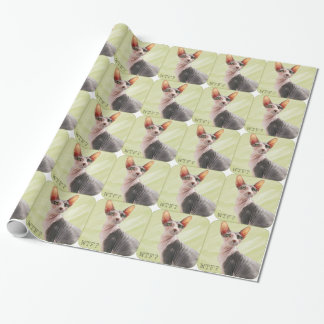 """Ming says """"WTF?"""" Wrapping Paper"""