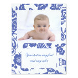 Ming Vase Patterns Personalized Announcement