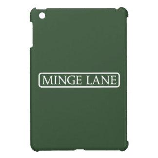 Minge Lane, Street Sign, Worcestershire, UK iPad Mini Cases