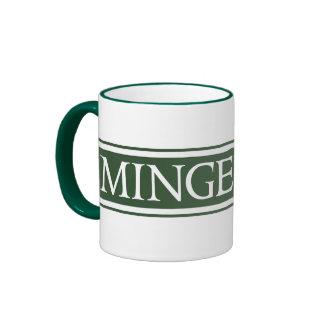 Minge Lane, Street Sign, Worcestershire, UK Ringer Coffee Mug