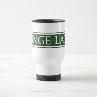 Minge Lane, Street Sign, Worcestershire, UK 15 Oz Stainless Steel Travel Mug