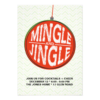 Mingle + Jingle Cards