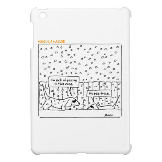 Mingus & Maggie >> Snow P. >> Tote Bag iPad Mini Cover