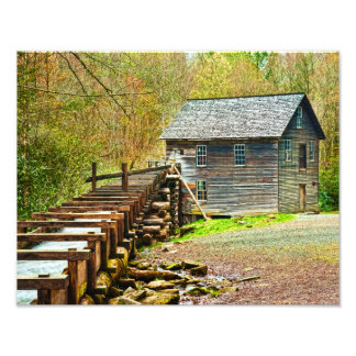 Mingus Mill Great Smoky Mountains Photo