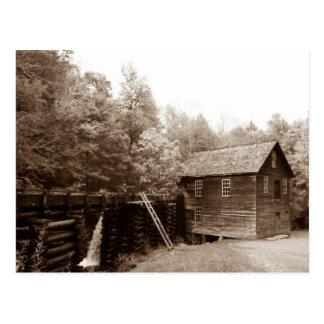 Mingus Mill - Great Smoky Mountains Postcard
