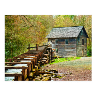 Mingus Mill Great Smoky Mountains Postcard