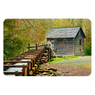 Mingus Mill, Great Smoky Mountains Rectangular Magnets