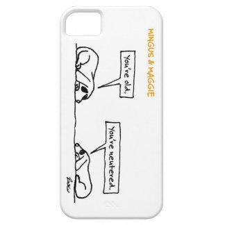 Mingus y Maggie >> neutralizado Funda Para iPhone SE/5/5s