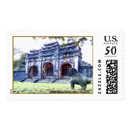 Minh Mang Tomb, Hue, Vietnam Postage