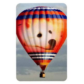 Mini American Eskimo Balloon Magnet