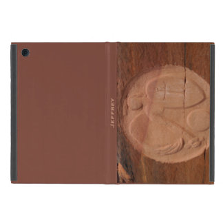 mini ángel en folio del caso del iPad en la parte iPad Mini Cárcasas