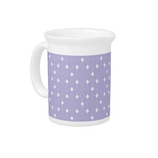 Mini Argyle - lavanda Jarra Para Bebida