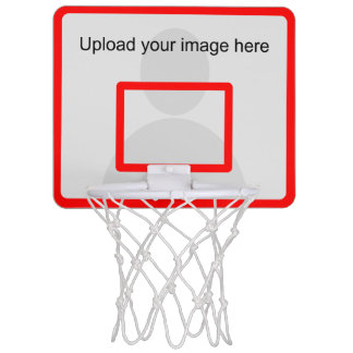 Mini aro de baloncesto de encargo con el marco del minicanastas