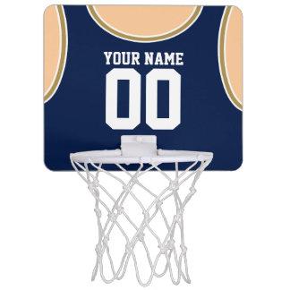 Mini aro de baloncesto de encargo del nombre/del canasta de baloncesto mini