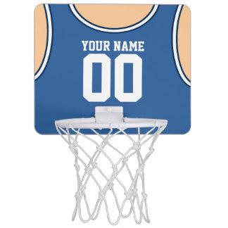 Mini aro de baloncesto de encargo del nombre/del minicanastas