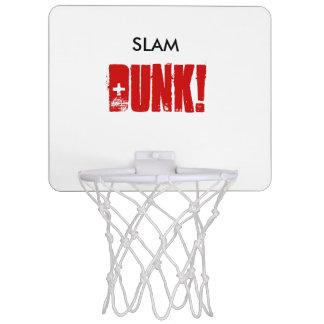 Mini aro de baloncesto de la pared de la CLAVADA Minicanasta