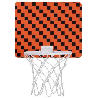 Mini aro de baloncesto de los cuadrados minicanastas