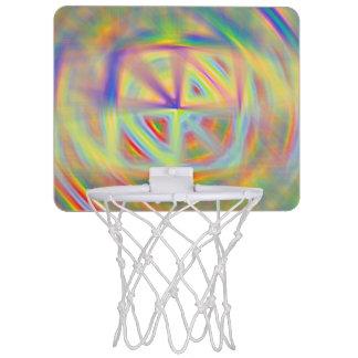 Mini aro de baloncesto del caleidoscopio canasta mini
