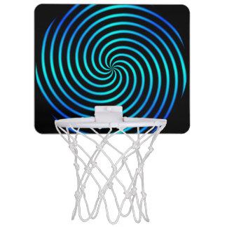 Mini aros de baloncesto de la vuelta 1 canastas mini