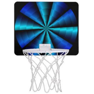 Mini aros de baloncesto de la vuelta 2 canasta mini
