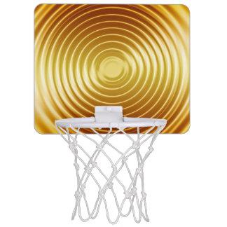 Mini aros de baloncesto de la vuelta 3 canasta mini