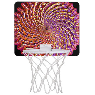 Mini aros de baloncesto de la vuelta 4 minicanastas