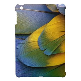 Mini azul del Macaw del caso de Ipad